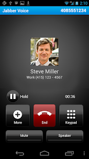 Cisco Jabber Voice - screenshot thumbnail