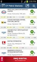 Screenshot of Cyprus Petrol Stations