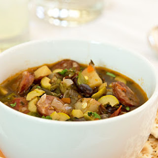 Andouille and Black Bean Soup