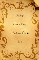 Screenshot of Secret Diary