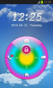Rainbow Colors GO Locker - screenshot thumbnail