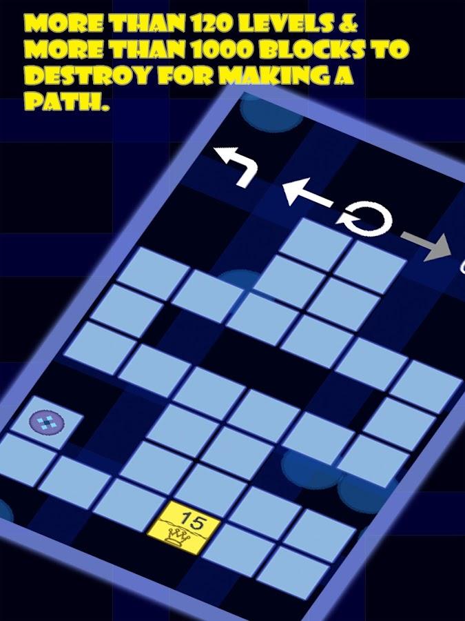 Destroy Path - screenshot