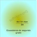 Ecuaciones de segundo grado icon