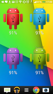 Droid Battery Widget Plus- screenshot thumbnail