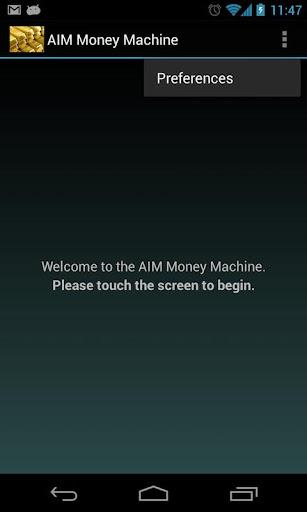 AIM Money Machine