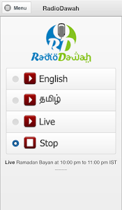 Radio Dawah Online Islam Radio screenshot 0