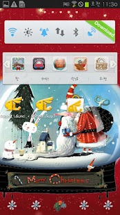 (Live Wallpaper) Snow globe - screenshot thumbnail