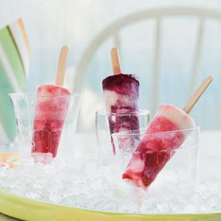 Berry-Banana Freezer Pops