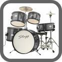 Real Drum HD icon