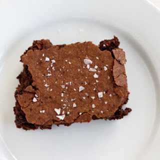 Brownies with Sea Salt