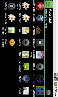 App List- screenshot thumbnail