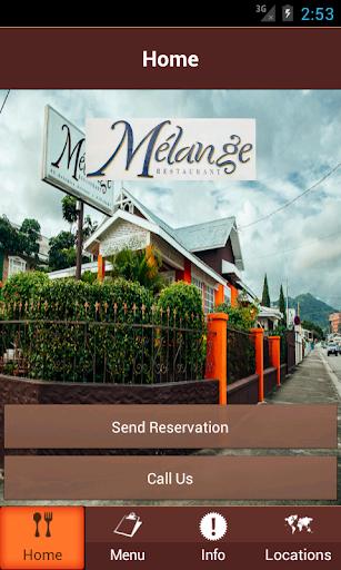 Mélange Restaurant Trinidad