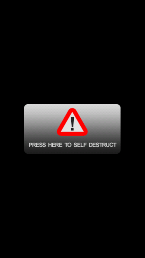 Self Destruct Button - screenshot