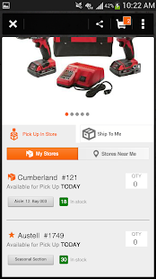Pro App - The Home Depot - screenshot thumbnail