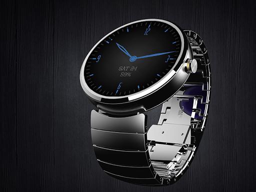 Timeless-Blue Watch Face