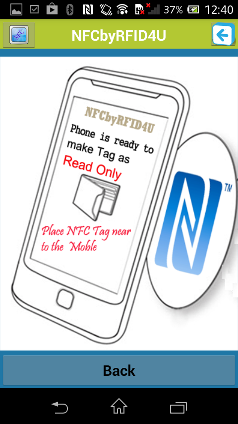 NFC APP BY RFID4U- screenshot