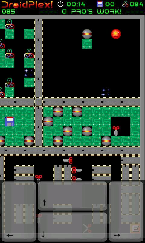 DroidPlex! (Supaplex)- screenshot