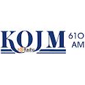KOJM Radio logo