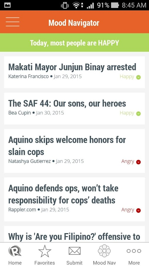 Rappler -  News, social media - screenshot