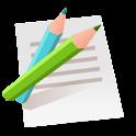 色々なメモ帳 (音声メモ,通知メモ,共有,検索,翻訳) icon
