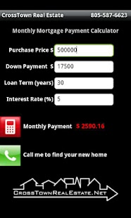 CrossTown Mortgage Calculator - screenshot thumbnail