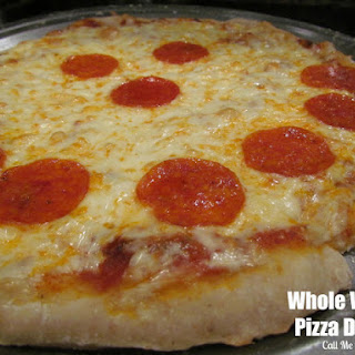 Whole Wheat Pizza Dough.