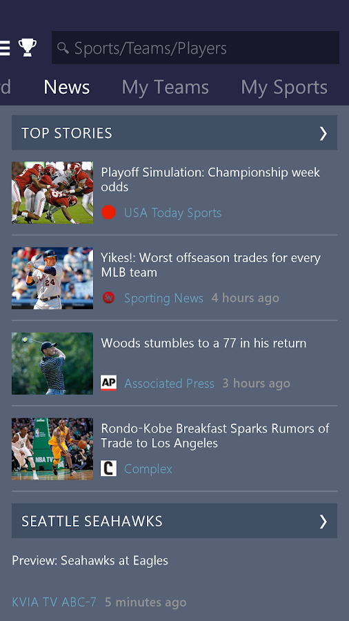 college sports scores msn sports news