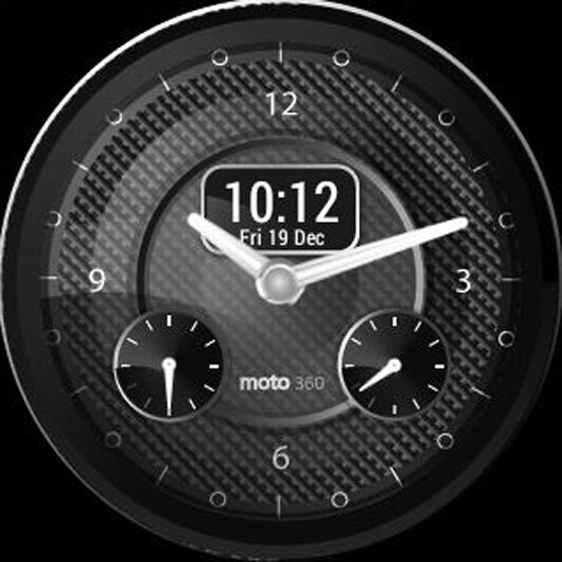 Carbonite Watch Face for Wear