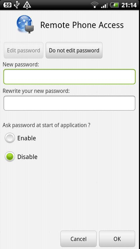 Remote Phone Access - screenshot