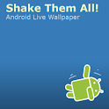 Shake Them All! Live Wallpaper logo