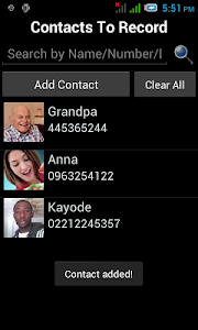 Automatic Call Recorder Pro screenshot 2