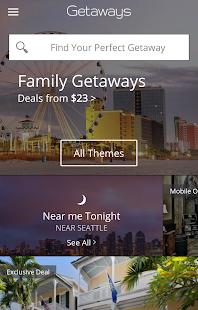 Getaways by Groupon Screenshot 1