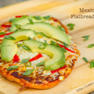 Mexican Flatbread Pizza.