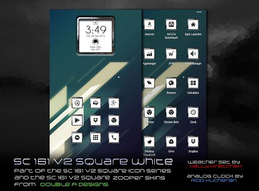 SC 161 v2 Square White