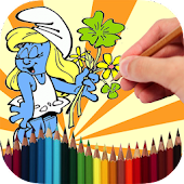 Coloring Book The Smurfs