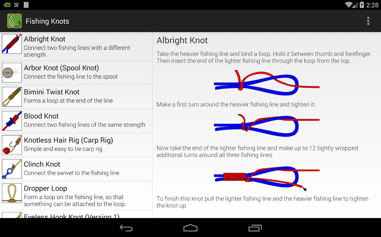 Fishing Knots - screenshot