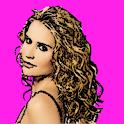curl hair logo