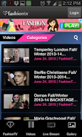 Screenshot of Fashion TV for Android