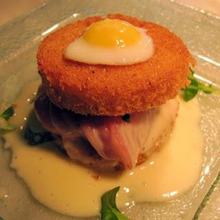 Hatfield's Croque Madame Sandwich.