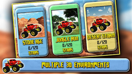 3D Monster Truck Driving 1.6 screenshot 41578
