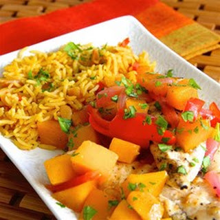 Mango-Pecan Chicken