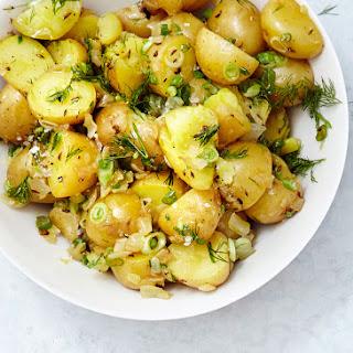 German Potato Salad with Dill.