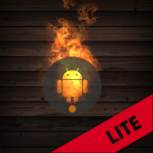 Droid on Fire LWP Lite