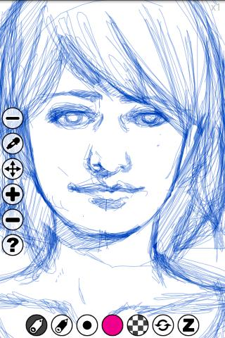 Plouik (drawing app) - screenshot