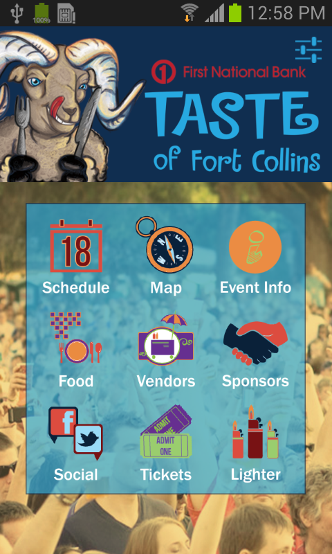 Taste of Fort Collins 2014 - screenshot