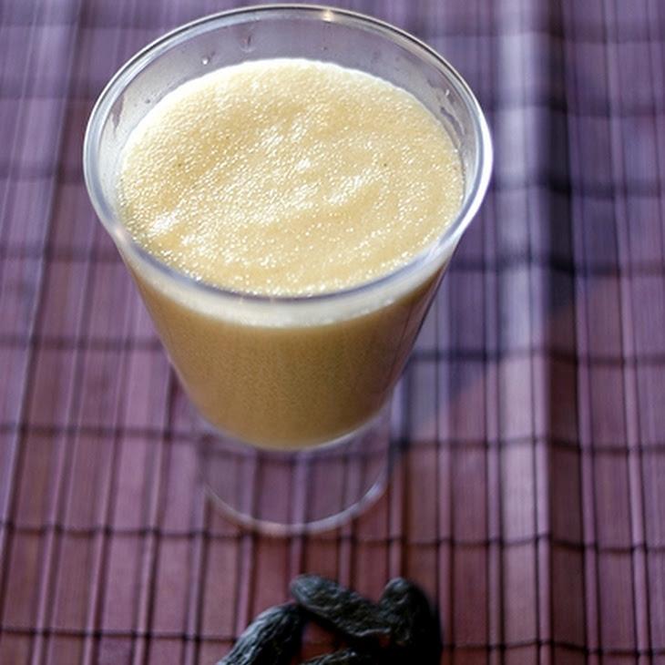 Milk and Tonka Bean Semolina Recipe