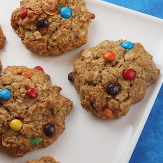 Agave & Honey Oatmeal- M&M Cookies.