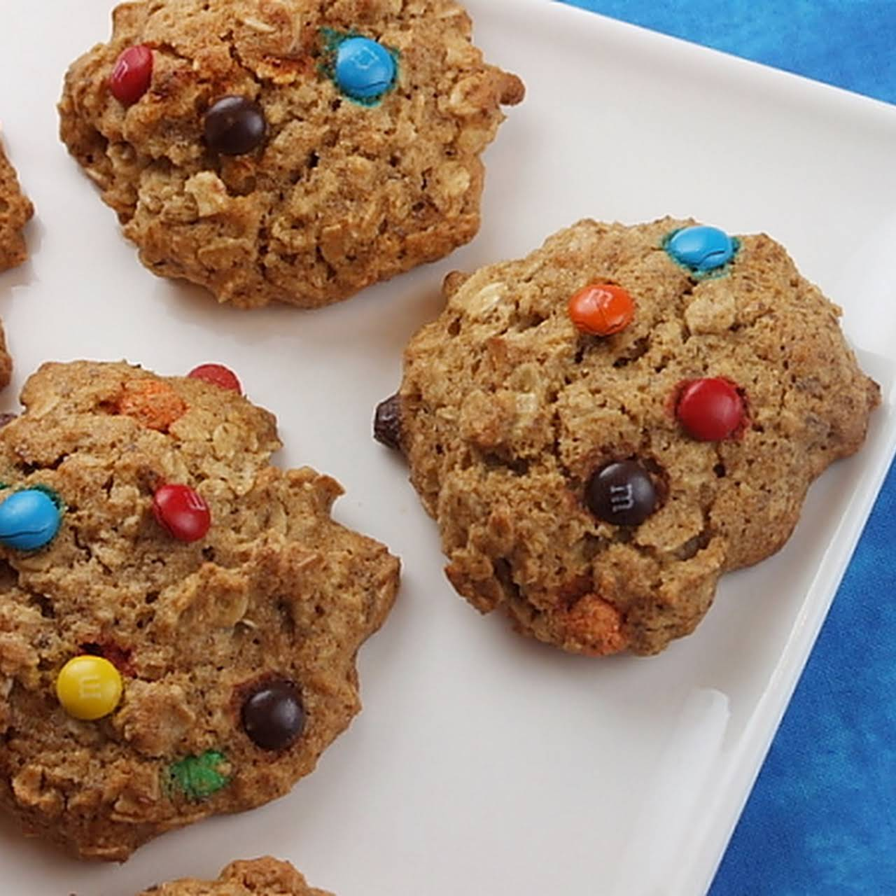 Agave & Honey Oatmeal- M&M Cookies