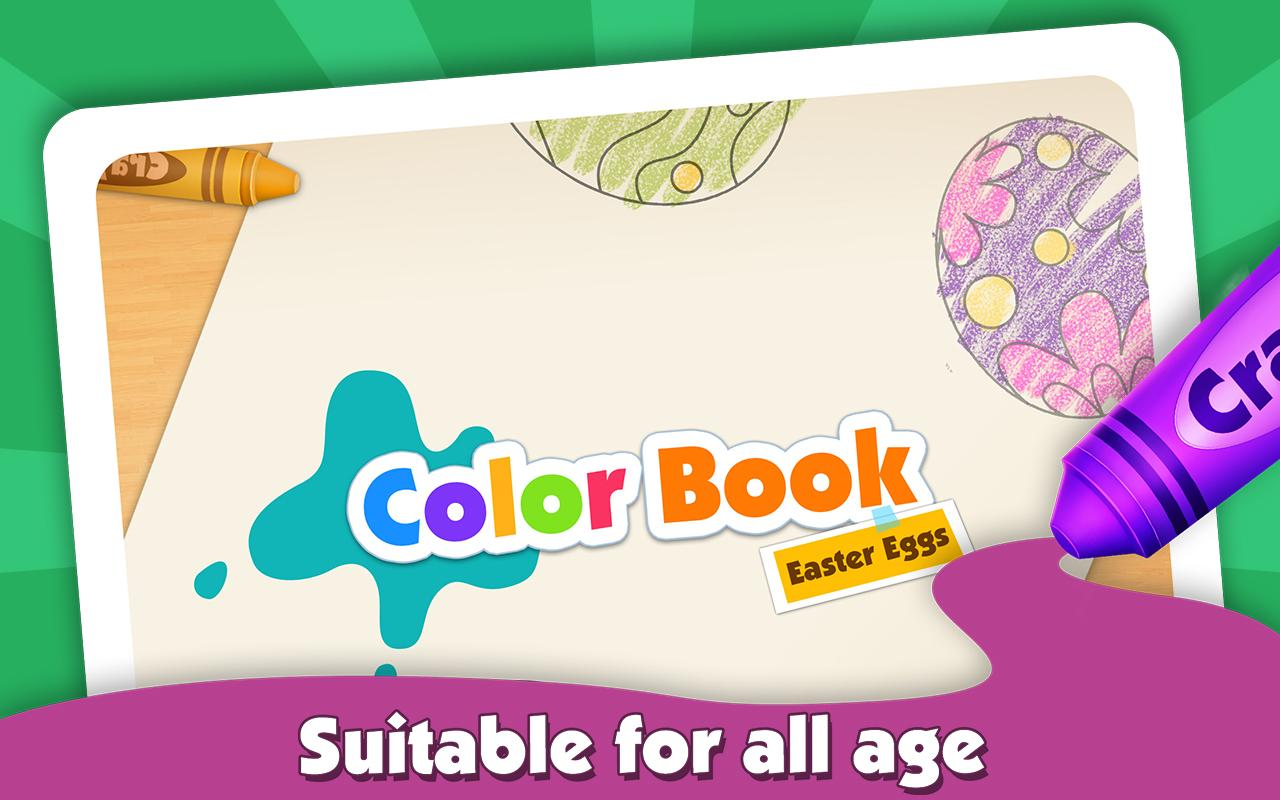 kids color book easter eggs android apps on google play