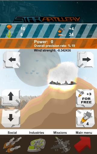【免費策略App】Star Artillery Shooter-APP點子